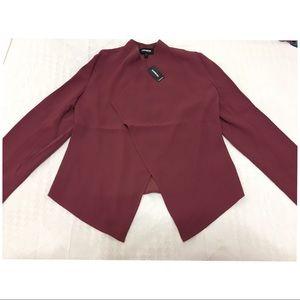 Express- Drape open front jacket/blazer
